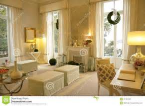wohnungseinrichtung beige cozy living room reception of visitors royalty free stock photos image 25783348