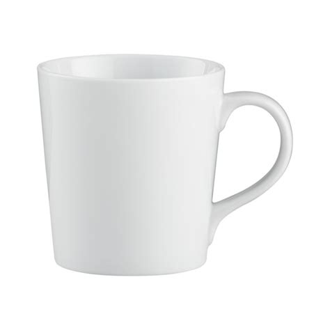 white kitchen furniture everyday mug in coffee mugs tea cups reviews crate