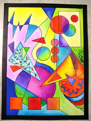 Abstract Drawing Using Shapes by Kandinsky Tutorial Ss Trace Blocks For Shapes Add