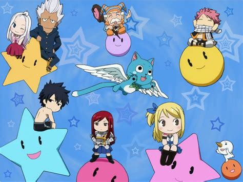 chibi fairy tail wallpaper anime wallpapers zone