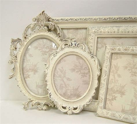 shabby chic photo frame picture frames shabby chic picture frame set ornate frames