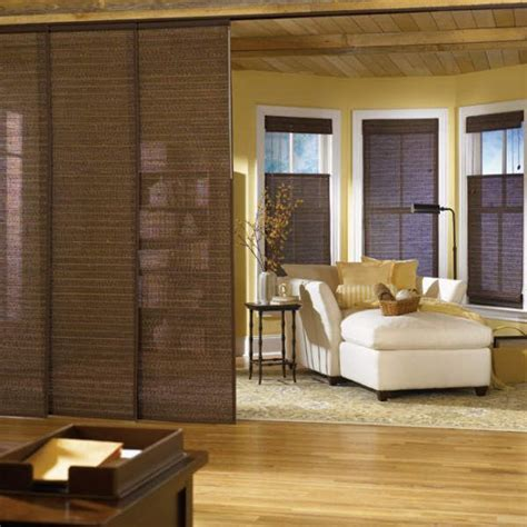 bali sliding panels natural shade fabrics bali sliding