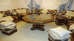 Tables de salon marocain moderne Salon marocain déco