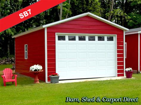 barn shed and carport direct free garage plans 16 x 24 shed house plans with loft