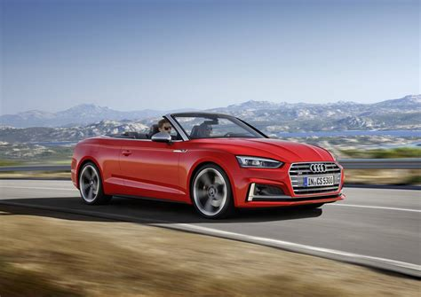 2017 Audi A5 And S5 Cabriolet