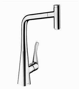 Hansgrohe Metris Select : hansgrohe metris select 320 kitchen mixer tap with pull out spray uk bathrooms ~ Eleganceandgraceweddings.com Haus und Dekorationen