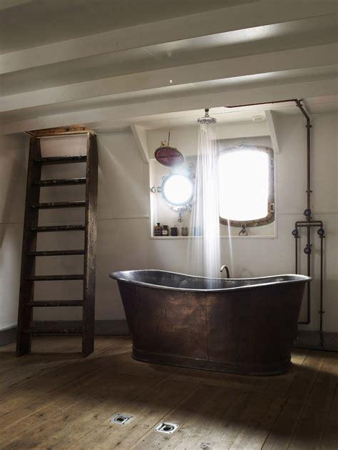 awesome bathroom designs 20 rustic bathroom designs with copper bathtub