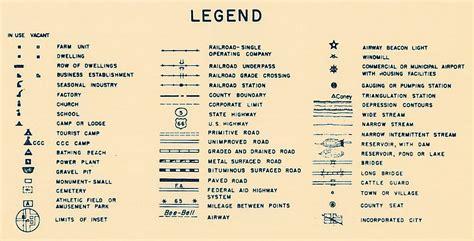 highway map legends bing images