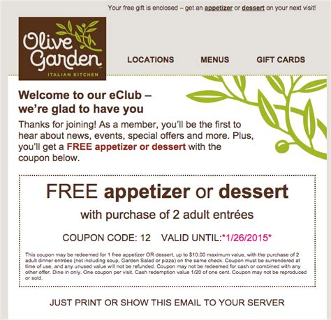 olive garden discounts free printable coupons olive garden coupons