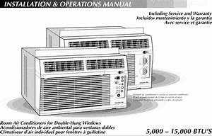 Hampton Bay Air Conditioner Room  42  Manual L0811216
