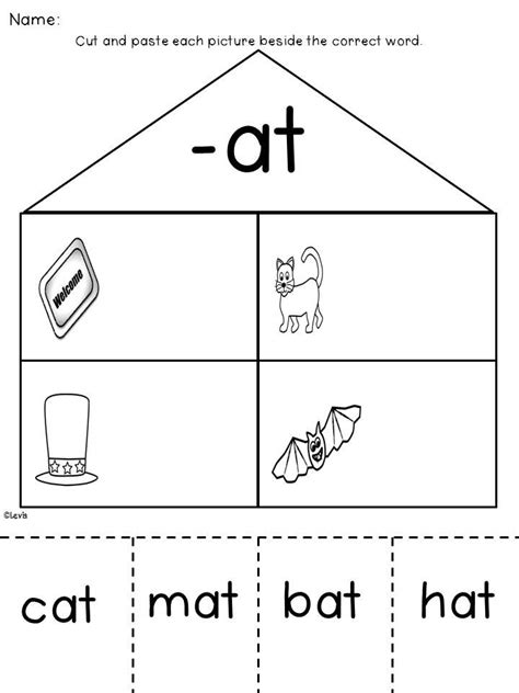 vowel word family word work bundle of 30 families word families shorts and word work