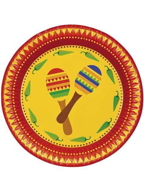 assiettes mexicains