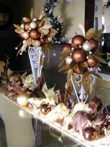 decoracion de navidad color cafe  cobrizo como