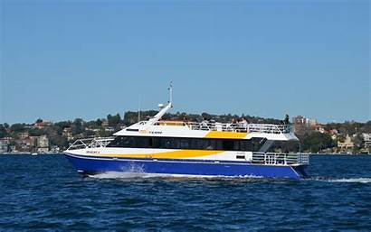 Ferry Sydney Seacat Wallpapers Boat Kingdom Passenger