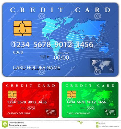 credit  debit card design template royalty  stock