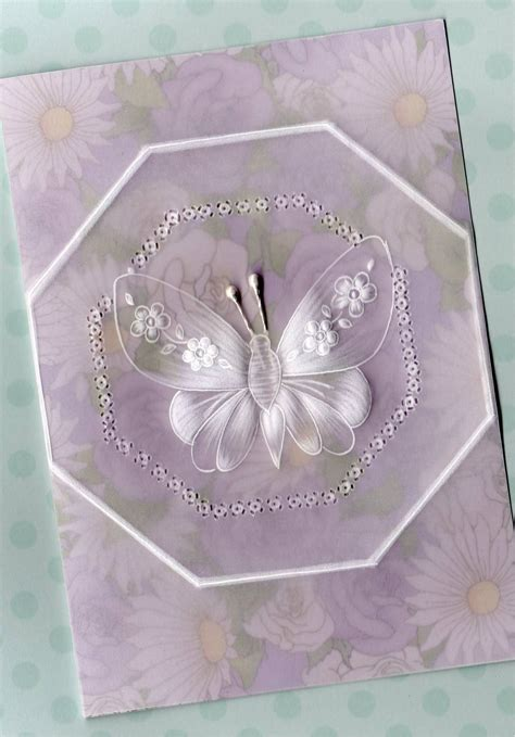 butterfly card parchment worldwide