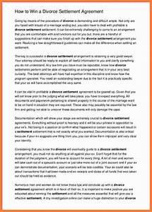 Compensation Letter Sample 5 Divorce Settlement Calculator Marital Settlements
