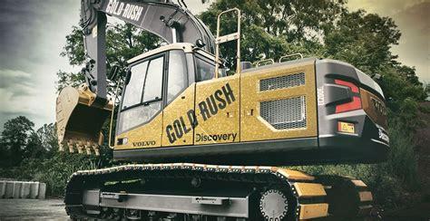 volvo gold rush excavator proceeds benefit nonprofits