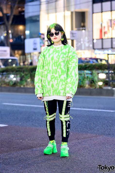 harajuku girls billie eilish inspired hairstyle
