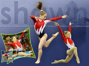 Olympic Gymnastics Shawn Johnson