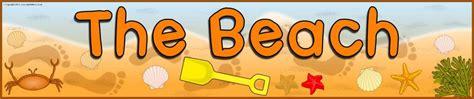 beach display banner sb sparklebox
