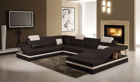 canapé noir et blanc deco in canape d angle design noir et blanc atilde