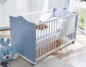 Babybett Und Wickelkommode : babybett inklusive wickelkommode und wandregal milan in blau wei ~ Watch28wear.com Haus und Dekorationen