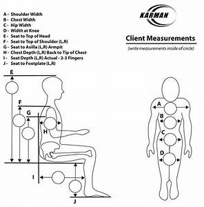 Wheelchair Measurements Chart
