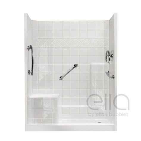 3 Shower With Seat by Multi Low Threshold Shower With Molded Seat Ella S