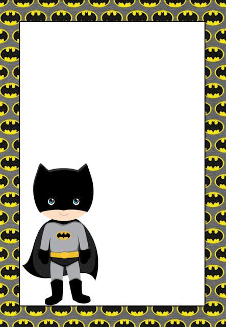 printable batman invitations cards  labels
