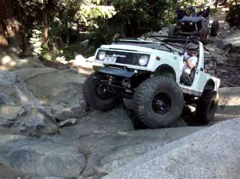 suzuki samurai rock crawler long wheel base suzuki samurai rock crawling youtube