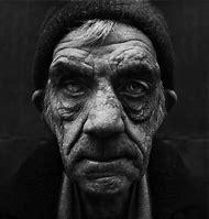 Black and White Portraits Homeless