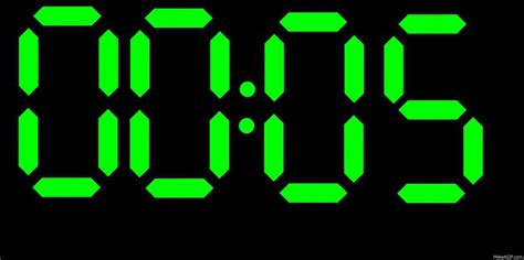 Digital Clock Countdown On Make A Gif