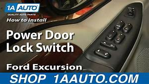 How To Replace Power Door Lock Switch 02