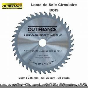 Lame Scie Circulaire Bois : lot de lames de scie circulaire carbure bois ~ Melissatoandfro.com Idées de Décoration