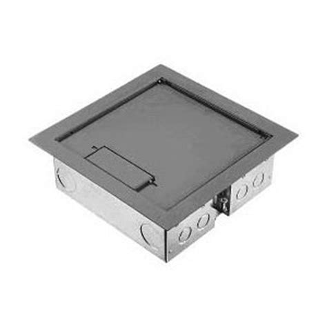 hubbell afb401gnt access floor box and cover 4 gang