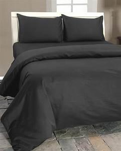 Parure De Lit Gris : parure de lit gris fonc 100 coton egyptien 1000 fils homescapes ~ Teatrodelosmanantiales.com Idées de Décoration
