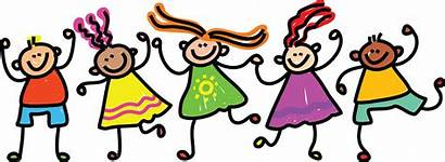 Friends Clipart Background Backgrounds Transparent Dancing Clipground
