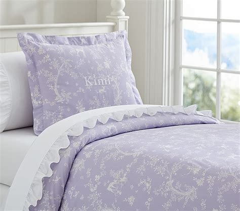 lavender cover for pottery barn dreams toile duvet cover lavender