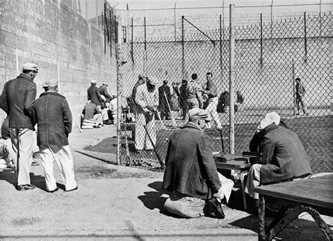 alcatraz prisoners photos alcatraz welcomes its first inmates 100 classics challenge