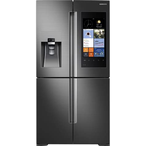 Samsung Cabinet Depth Refrigerator Door by Rf22k9581sg Samsung Appliances 36 Quot 22 Cu Ft Counter
