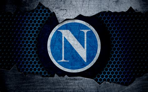 Download Wallpapers Napoli, 4k, Art, Serie A, Soccer, Logo