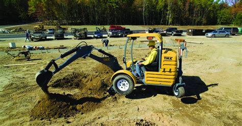 excavation equipment mini excavator onsite installer