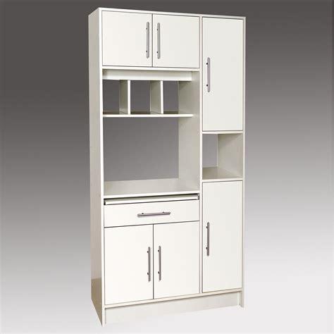 meuble cuisine colonne four micro onde buffet micro ondes 6 portes 1 tiroir 4 niches