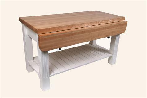 John Boos Grazzi Kitchen Island Table w/ Maple Top (8