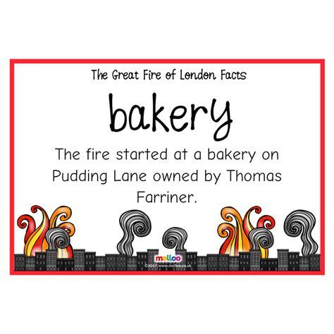 great fire  london facts history ks ks