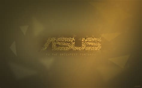 Asus - To the Brightest Tomorrow Wallpaper by Steelmax on