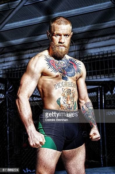 portrait  ufc featherweight champion conor mcgregor