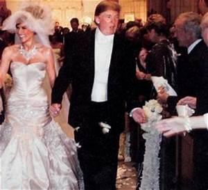 donald trump wife wedding dress With donald trump wife wedding dress