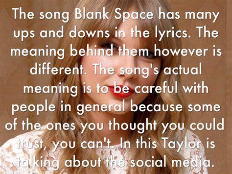 blank space  jamie